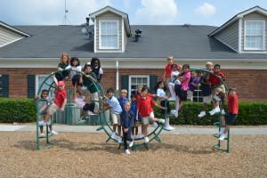 3rd grade on playground