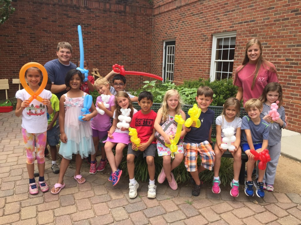 Alpharetta Summer Camp - Balloon Animals