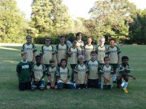 Wildcat Soccer Team - Division Champs