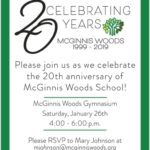 20th anniversary celebration