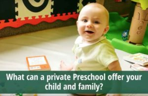 Private preschool daycare and childcare at McGinnis Woods