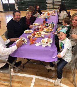 private preschool thanksgiving feast