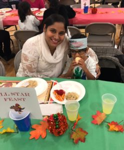 thanksgiving celebration at mcginnis woods preschool