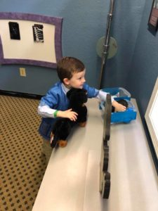 preschool and prek students take field trip