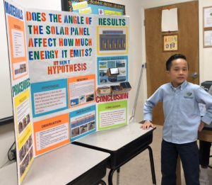 Middle Grades Students Science Fair Projects