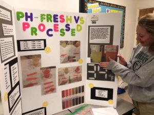 Middle School Students STEM Science Fair Projects 2