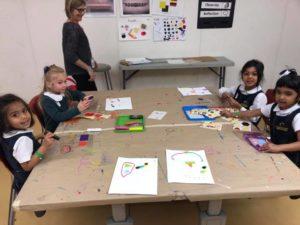Art Activities at The High Preschool Students