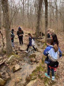 Crossing a Stream - Natures Classroom