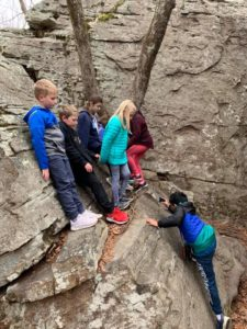 Hiking Natures Classroom Field Trip 4th Graders