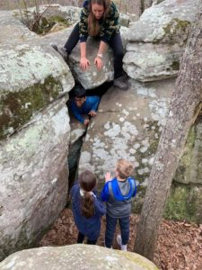 Hiking Natures Classroom Field Trip for 4th Graders