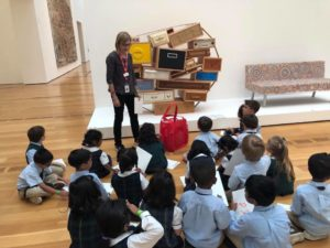 Pre-K Classes Field Trip to the High Museum of Art