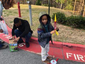 STEM Family Fun Night Rockets