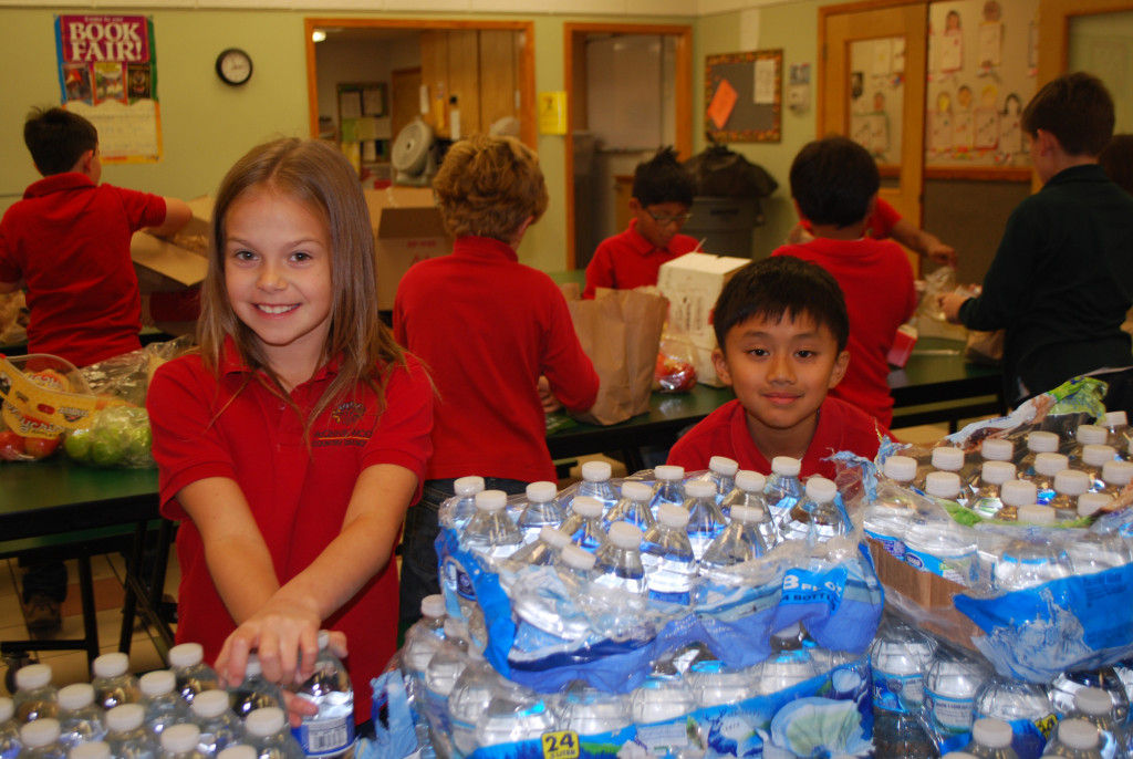 Community Service at McGinnis Wood Private School