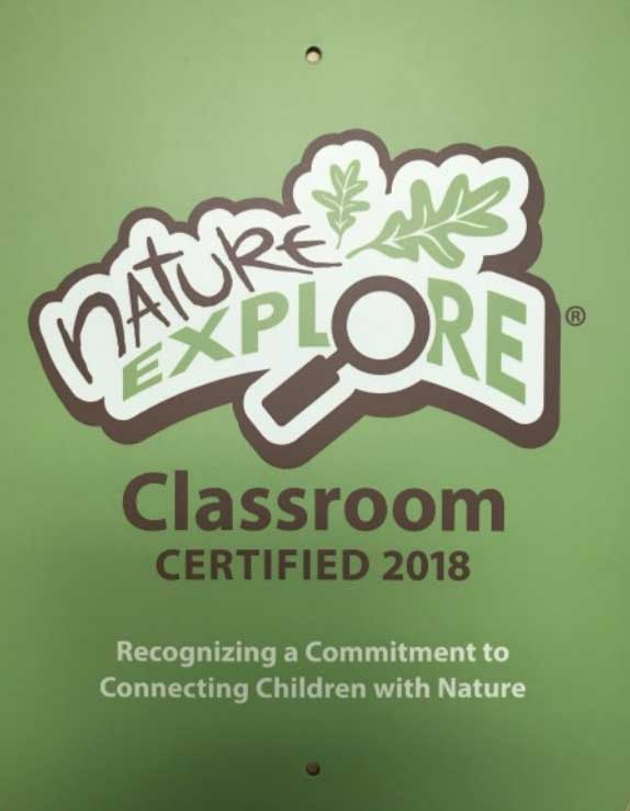 Nature Explore Certified Classroom