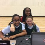 Kristen and Sydney Johns Creek Private School Tech Fair (1)