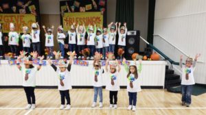preschool daycare and childcare thanksgiving celebration