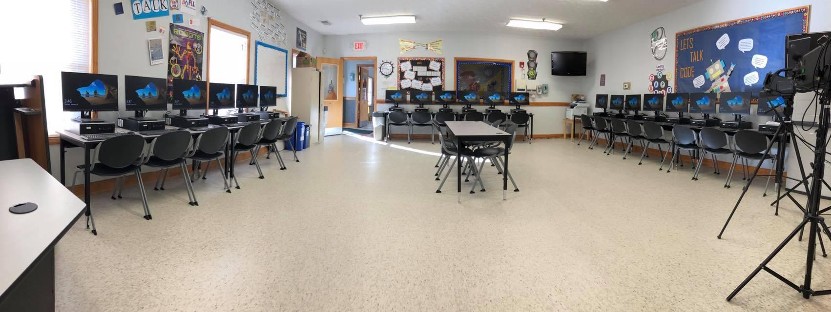 new computer lab alpharetta johns creek private school