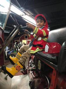 Alpharetta PreK Students field trip - fireman