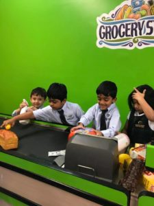 INK brings imaginations to life grocery store play