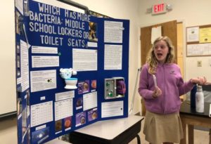 Middle School Students 2019 Science Fair Projects