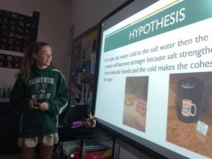 Middle School Students STEM Science Fair Projects 5