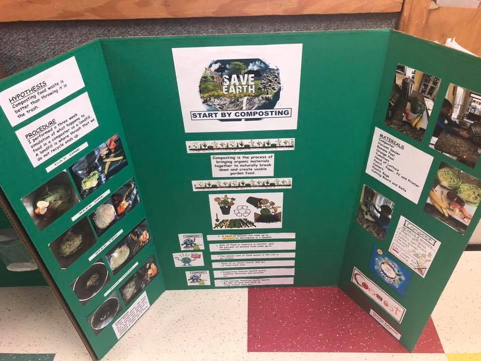 While studying ecosystems in science, I had my 4th grade ...  |4th Grade Science School Projects