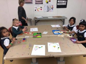 Art Activities at The High Preschool Students