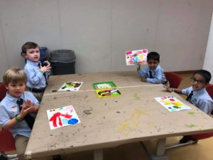 Pre-K Classes Field Trip to the High Museum Hands On Art