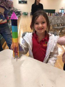 Rainbow Rocket Project STEM Night