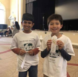 Private School Students Participate in Science Olympiad