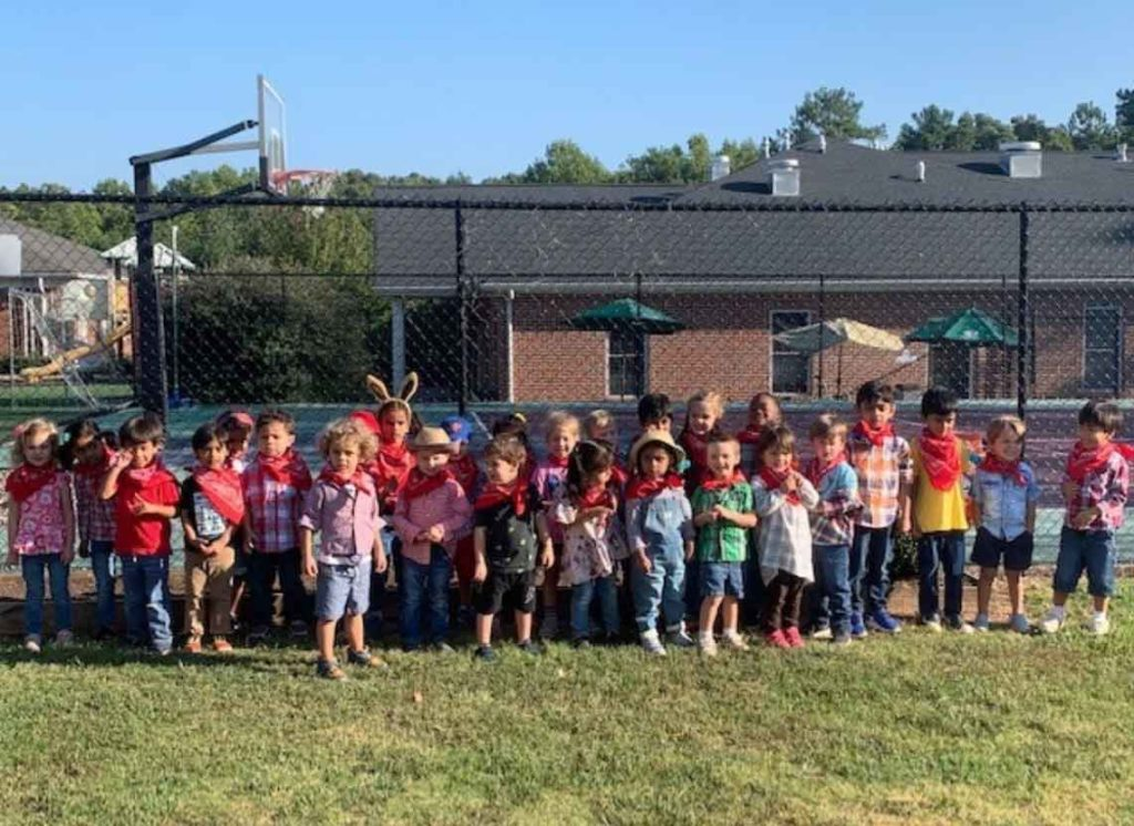 Johns Creek Alpharetta Preschool Students