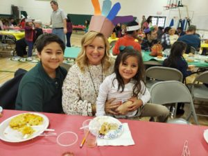 1st Grade Thanksgiving Feasts