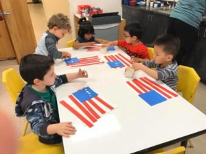 Alpharetta Preschool Classes Honoring Veterans