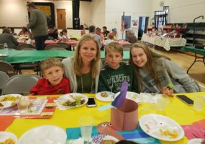 Celebrating Thanksgiving at our private school in Johns Creek