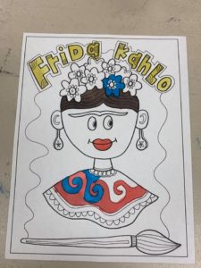 Frida Kahlo Hispanic Heritage Month