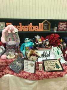 Holiday Shoppe preview table McGinnis Woods Country Day School