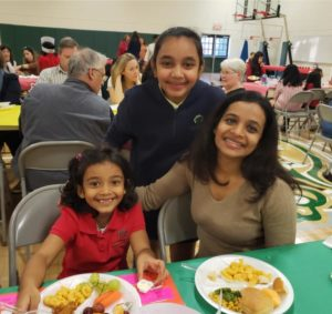 Thanksgiving Feast Day at our Private School in Alpharetta Georgia