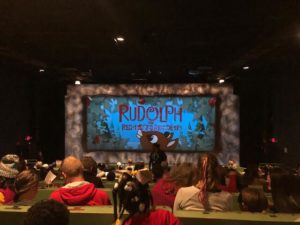 Alpharetta Private School Field Trip to see Rudolph the Red Nose Reindeer
