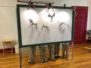 Shadow Puppets at Center for Puppetry Arts