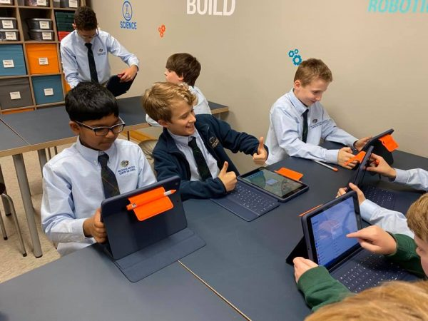 Johns Creek Private Middle School Using Technology