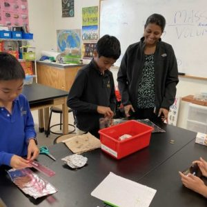 McGinnis Woods Students Preparing for Science Olympiad