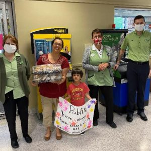Delivering Scones and Masks to Publix Employees