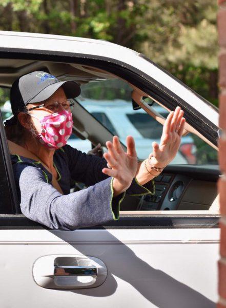 Happy Birthday Parade with Masks