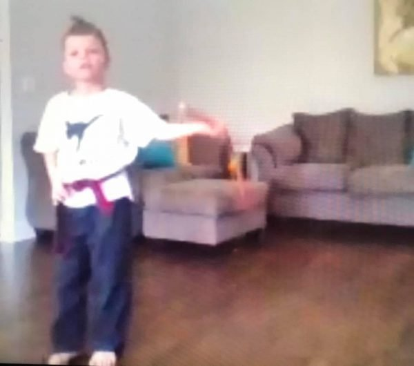 Martial Arts in the Virtual Talent Show