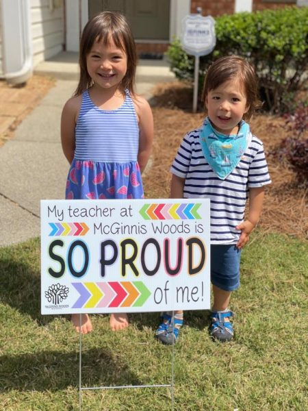 Preschool Lawn Signs from McGinnis Woods
