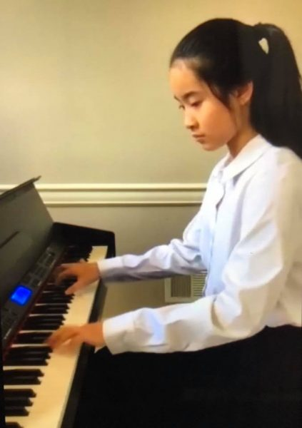 Private School Talent Show - Piano