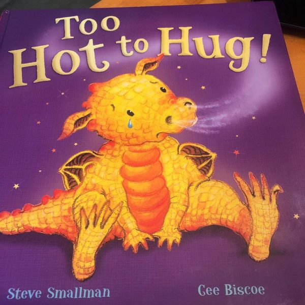 Virtual Bedtime Story Too Hot to Hug