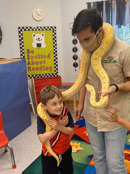 Boa Constrictor at Summer Camp Science