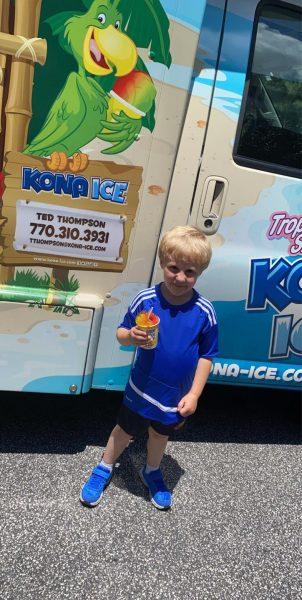 Kona Ice at Summer Camp