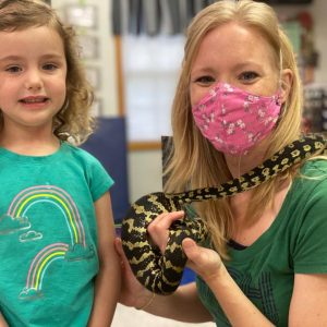 Learning about Snakes - Science at Summer Camp